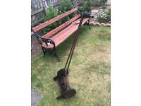 Antique Qualcast rotary lawnmower