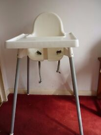 High Chair IKEA (plastic)