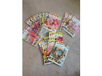 Garden Answers magazines x 18