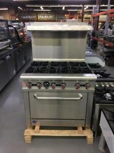 BRAND NEW 6 BURNER STOVE