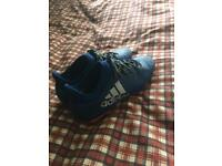 Size 8Adidas 16.3 football boots with boot bag
