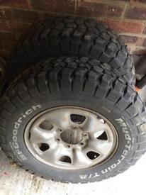 Hilux wheels