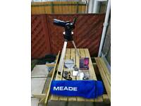 Meade ATX 70AT Telescope with accessories