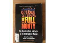 Full Monty Musical Paperback Book (Second Hand)