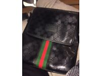 Men's Gucci Bag (iPad) genuine no receipt or box though