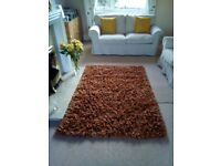 A quality deep pile rug from Next size 170 by 120 in excellent condition want £25