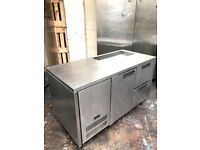 Williams commercial bench pizzaa topping fridge, catering fridge