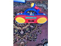 Sony kids radio and cassette with microphone