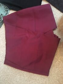 TOPSHOP skort size 10 great for xmas