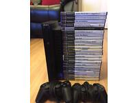 PlayStation 2 complete 20 games. 2 controllers Tested working