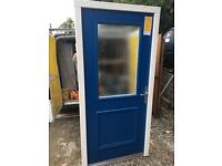 Selection of Composite exterior doors with hardwood framing