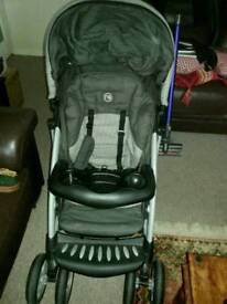 PUSCHAIR/CAR SEAT CARRYCOT