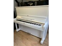 Yamaha U3 white case |Belfast Pianos| Free Delivery