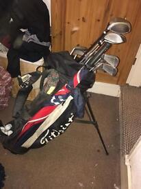 MDD+ full set irons and woods titleist golf bag