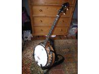Pilgrim 4 string Tenor Banjo