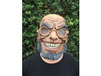 FX Studios Mad Bubba Full Head Latex Mask New With Tags RRP £29.99
