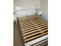 IKEA Trysil Double Bed Frame (with slats included) - ii