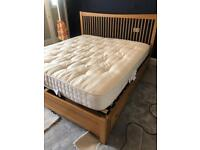 Feather and Black Super king size bed