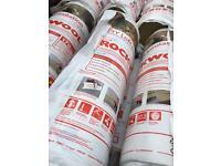 Rockwool Loft Insulation - 14 Rolls - 10 X 170mm And 4 X 100mm - Total Of 64sqm