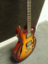 Fret King Black Label Elise hollow body guitar