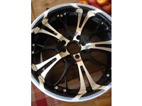 17in BRAND NEW in boxes 4 stud alloys