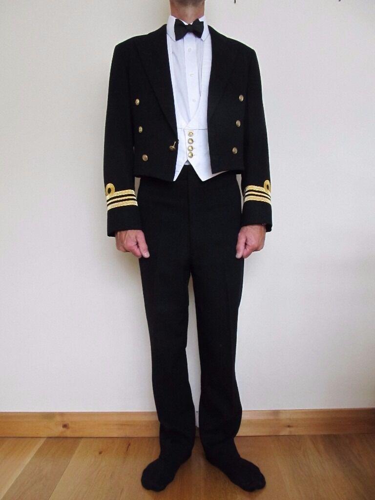 Royal Navy Officers Mess Dress Uniform Mens - Jacket and