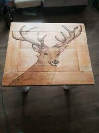 Stag head coffee table