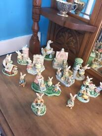 Beautiful set of 13 Beatrix Potter ornaments