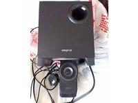 Creative Pc speakers 5.1 surrond sound