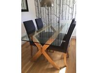 John Lewis Lydia Table and Chairs
