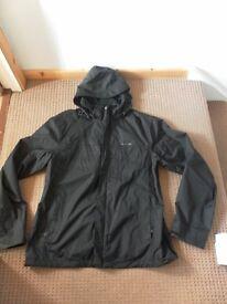 Mens Quechua 2 in 1 jacket. Size XL. Black. Excellent condition