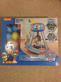 Paw Patrol Lookout Tower Ball Pit Brand new