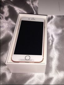 IPHONE 7 32GB immaculate condition (rose gold)