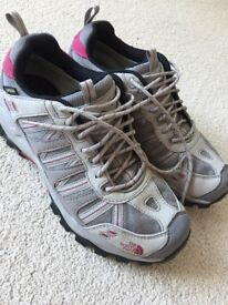 Ladies Walking Shoes Size 6. North Face