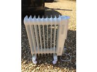 Electric Oul filled radiator