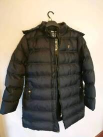 Bravesoul padded coat/jacket with detachable hood.