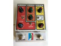 Mu-FX Boostron 3 guitar distortion overdrive and compressor pedal
