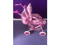 Dolls Pram with accessories You & Me (toys r us)