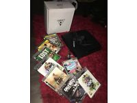 PlayStation 3 plus games and turtle beaches