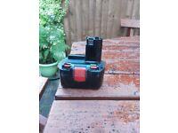 Power tool battery 14.4v Bosch