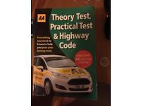 Theory test , AA book