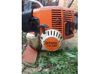 Stihl FS130 Strimmer with harness
