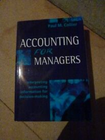 Accounting for Managers Interpreting accounting for decision making
