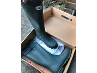 Ladies green welly's