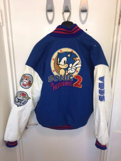 Sega Sonic The Hedgehog 2 Varsity Baseball Jacket In Cambridge Cambridgeshire Gumtree