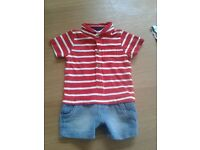 2 Next baby boy outfits