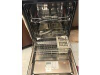 Black hotpoint dishwasher