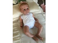 Reborn baby doll limited edition Lizzy