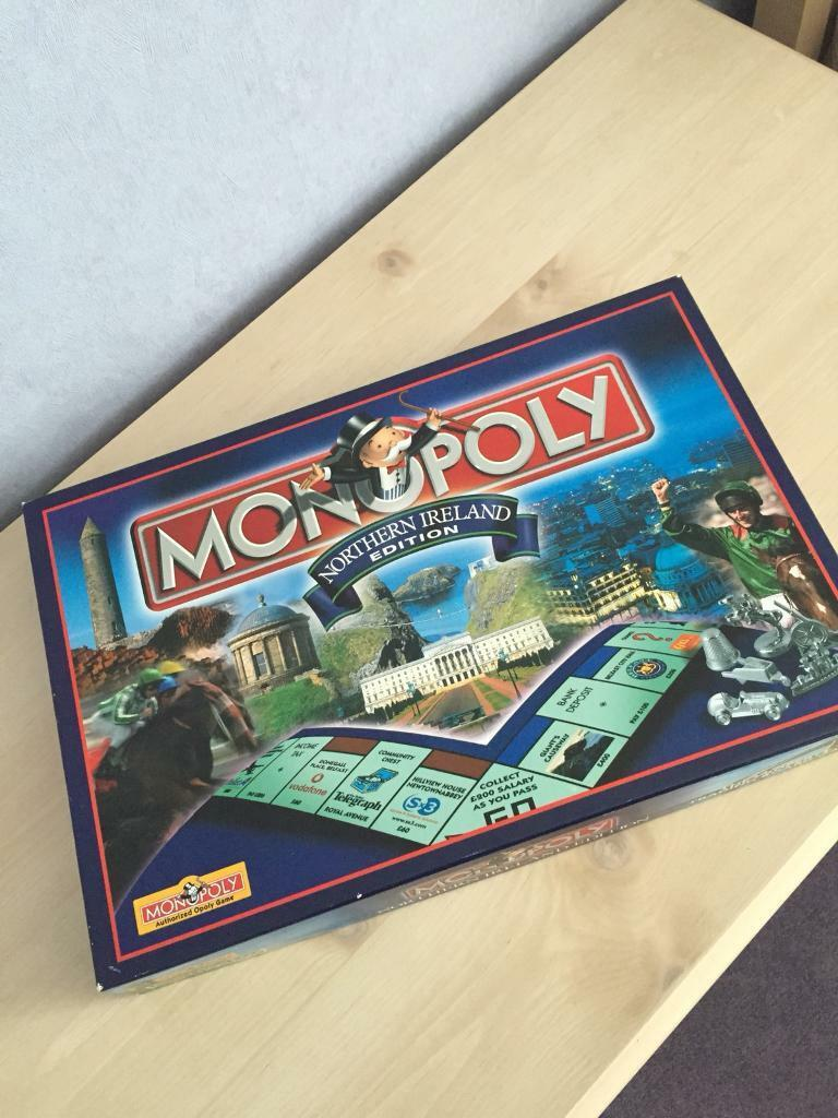 "MONOPOLY - ""Rare Northern Ireland Edition"""