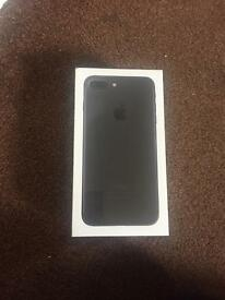 iPhone 7 plus 32 gb black on Vodafone unwanted upgrade new not been open